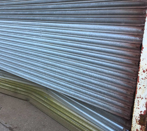 Ram Raid Damaged Shutter Repaired Basildon, Essex