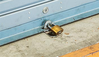 Industrial Shutter Security - Theft Prevention