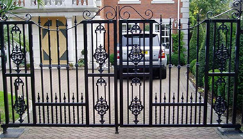 Metal Gate Home Security