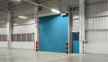 Rapid Roller Door Warehouse Installation
