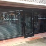 New Perforated Shop Front Shutter Installed in Billericay!
