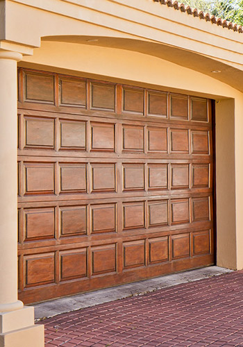 Sectional Garage Doors Wood Effect
