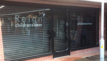 See Through Shop Front Shutters