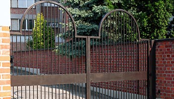 Commercial Security Gate Installation