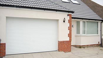 Electric Garage Shutter Installation