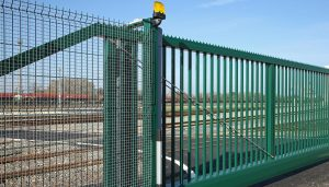 Security Gates from Sectional Garage Doors Ipswich suppliers.