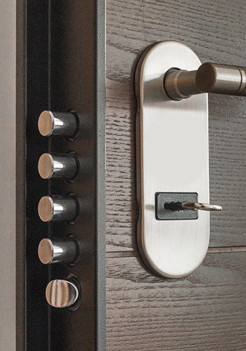 Security Door Multi Lock System