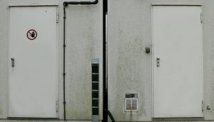 Steel Security Doors from Up and Over Doors Hampshire suppliers.