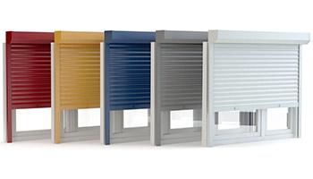 Window Roller Shutters Colours