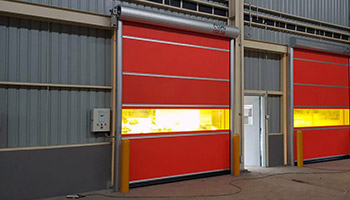 Fitted High Speed Roller Shutters