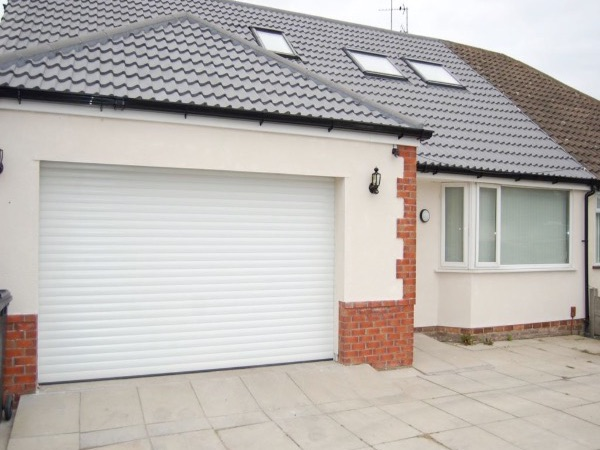 Newly Installed Roller Shutters by Essex Door Maintenance