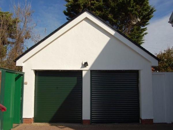 Double Garage Roller Shutters