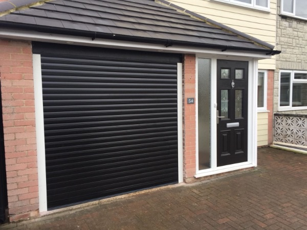 Garage Roller Shutter fitted and supplied by EDM