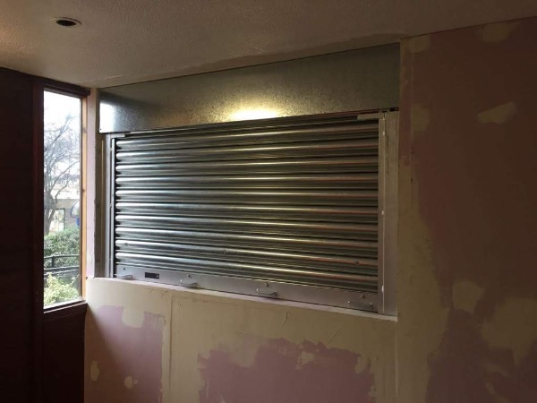 Window Roller Shutters fitted and supplied by EDM