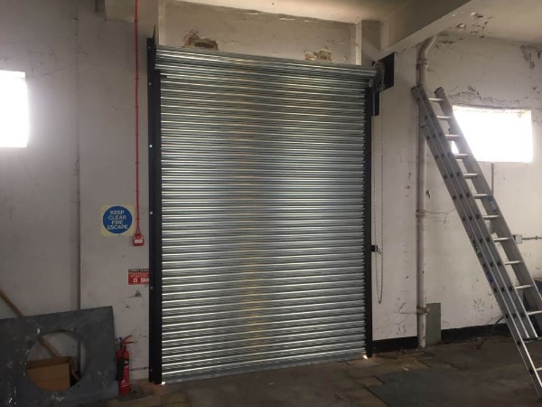 Bespoke metal roller shutters manufacture