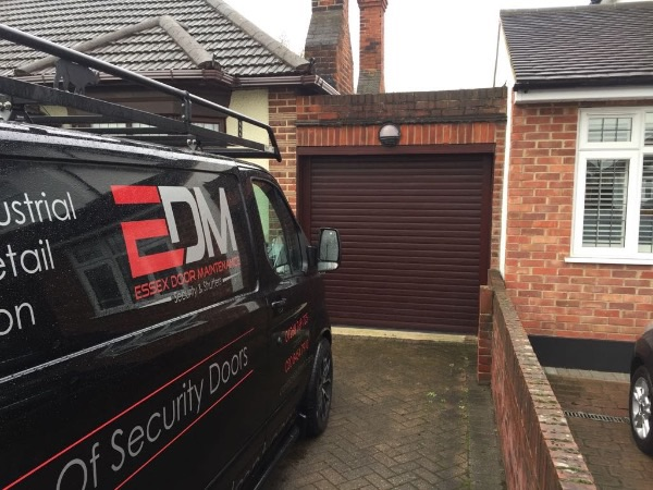 EDM team fitting Garage Roller Shutters