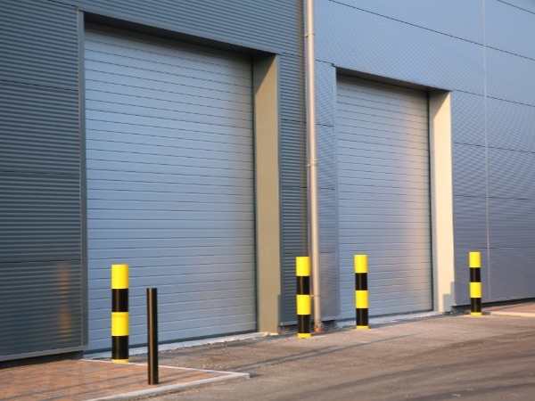 Smooth finish insulated industrial Roller Shutters