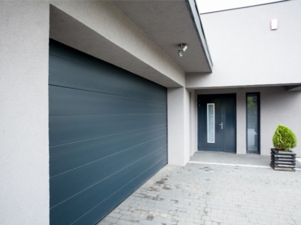 Modern and sleek finish Sectional Garage Doors