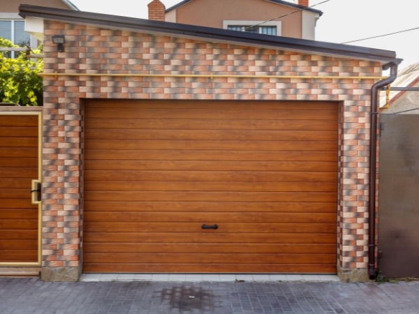 Wood Effect Garage Roller Shutter Doors