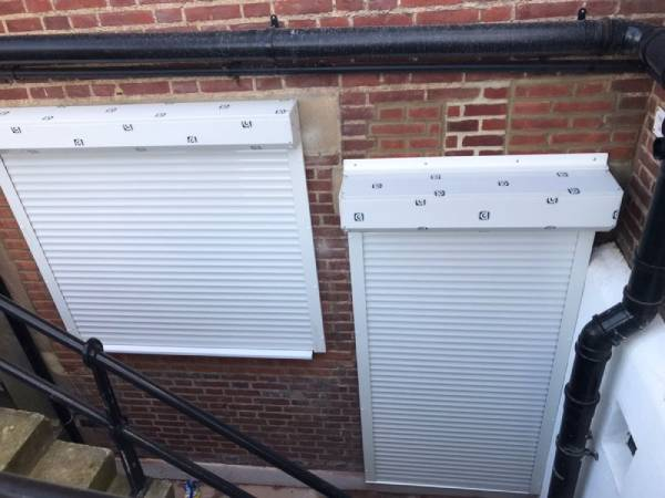 New Window Roller Shutters Installed by our team