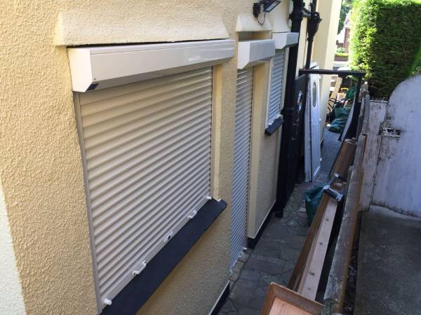 Window Roller Shutter Installation completed by EDM