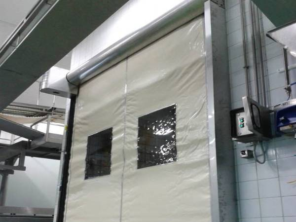 Internal Rapid Speed Fire Shutters by EDM