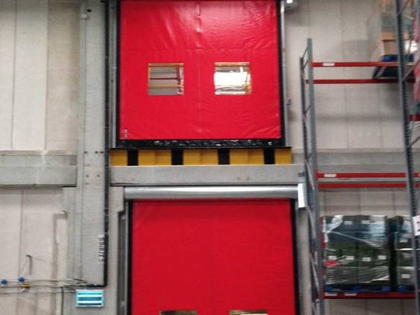 Multiple High Speed Roller Shutters made in the UK
