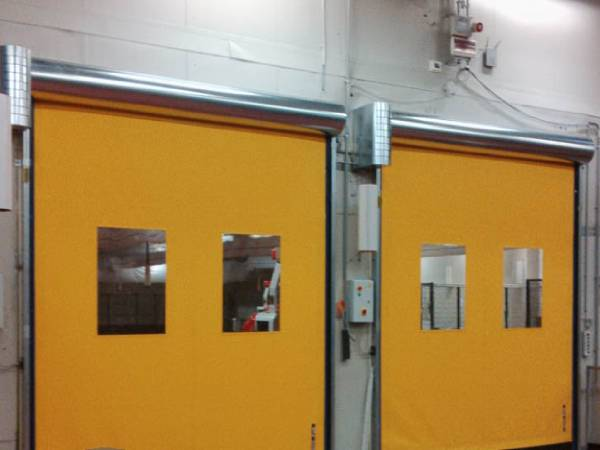 Double High Speed Roller Fire Shutters