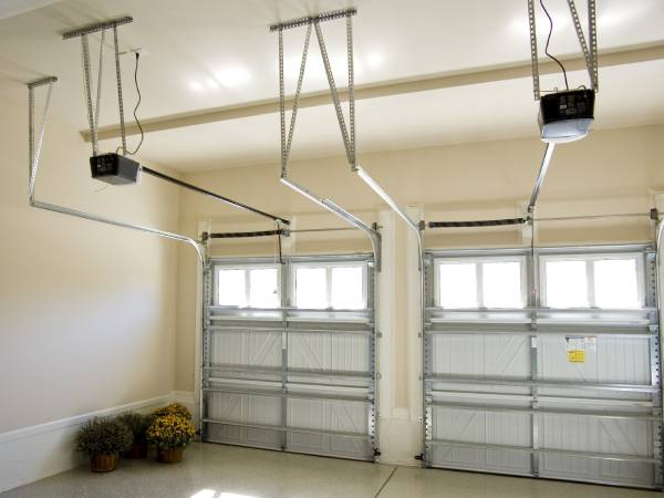 Up and Over Sectional Garage Doors by EDM