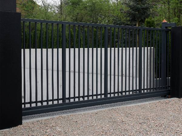 Bespoke Design Metal Security Gates by Essex Door Maintenance