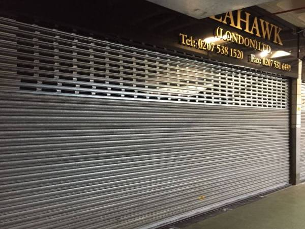 Secure Metal Shop Front Shutters Repair