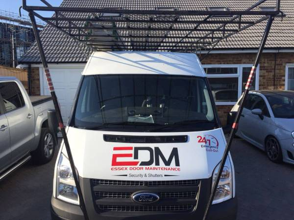 EDM Roller Shutters Installation team at work